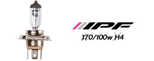 IPF H4 170/100w Halogenlampa