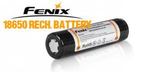 Fenix ARB-L2 18650 2600mAh 3,7V Uppladdningsbart Li-jon batteri