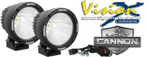 """Vision X Light Cannon 4,5"""" -  25w LED extraljus - 2pack"""
