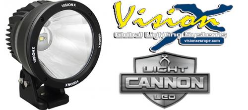 "Vision X Light Cannon 6.7"" - 50w LED extraljus"