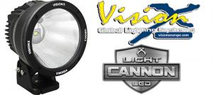 "Vision X Light Cannon 6.7"" - 50w LED extraljus"