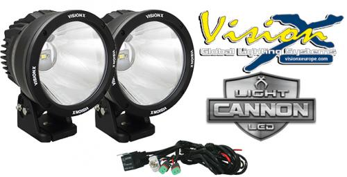 "Vision X Light Cannon 6.7"" - LED extraljus (2-pack)"