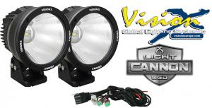 """Vision X Light Cannon 6.7"""" - LED extraljus (2-pack)"""