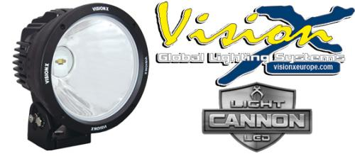 "Vision X Light Cannon 8.7"" - 90W LED extraljus"