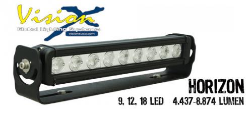 "17"" Vision X Horizon Prime LED extraljusramp"