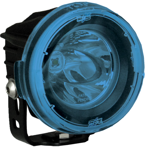 Vision X Optimus Round Skydd Blå