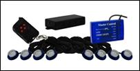 Vision X Tantrum LED Strobe Rock Kit - Blå