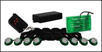 Vision X Tantrum LED Strobe Rock Kit - Grön