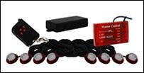 Vision X Tantrum LED Strobe Rock Kit - Röd
