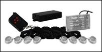 Vision X Tantrum LED Strobe Rock Kit - 7 olika färger