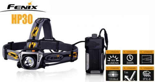 Fenix HP30 - LED pannlampa