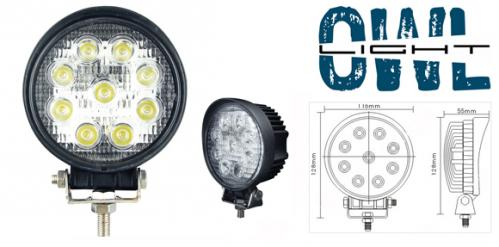 Owl Light 27w LED arbetslampa