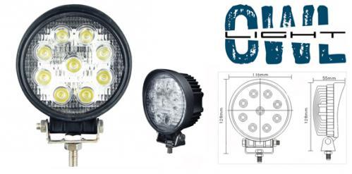 Owl Light 27w LED arbetslampa