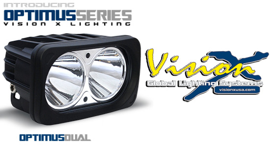 Vision X Optimus Dual LED extraljus