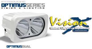 Vision X Optimus Dual White LED strålkastare