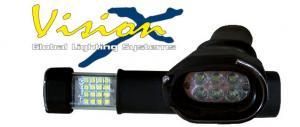 Vision X handhållen LED arbetslampa inkl. laddare och batterier