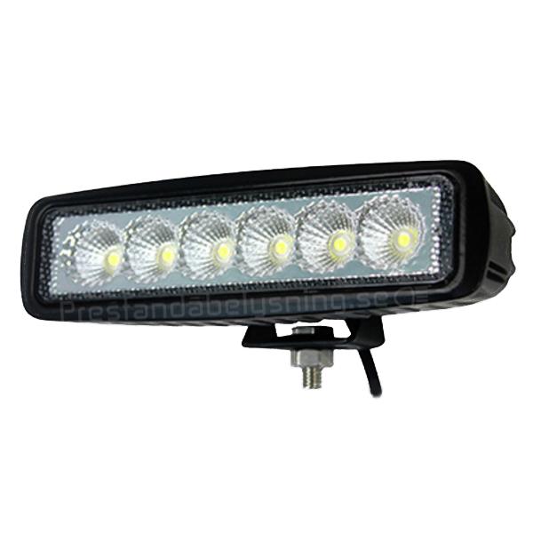 18w SlimLine LED backljus / arbetslampa