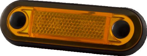 Sidomarkeringsljus, Truck Vision, 3 LED, Orange