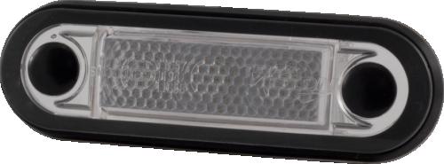 Sidomarkeringsljus, Truck Vision, 3 LED, Transp./Orange