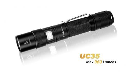 Fenix UC35 - USB Laddbar ficklampa