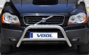 Volvo XC90 03-08 -MODELL MINDR- Rostfri frontbåge