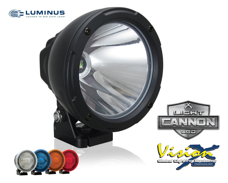 "Vision X Light Cannon 4,5"" - 25w LED extraljus"