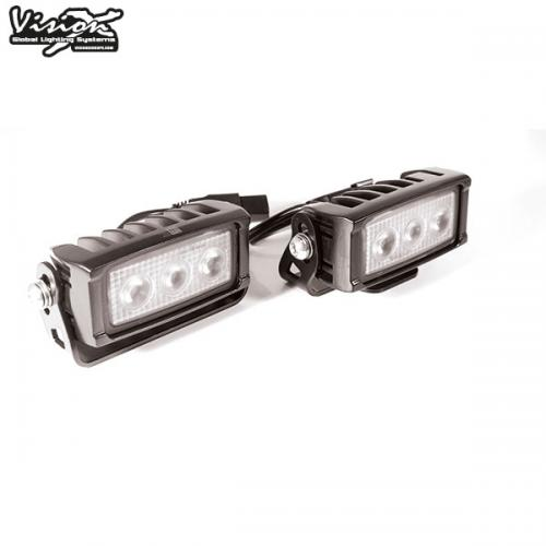 VISION X VL SERIES KOMPAKT 3-LED 15W W/DT BACKLJUS KIT