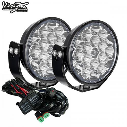 "VISION X VL SERIES THUNDER 6.7"" 126W LED EXTRALJUS KIT"