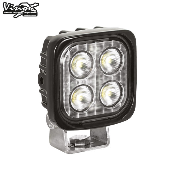 VISION X VL SERIES FYRKANTIG 4-LED 12W W/DT