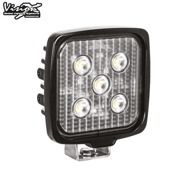 VISION X VL SERIES FYRKANTIG 5-LED 20W W/DT