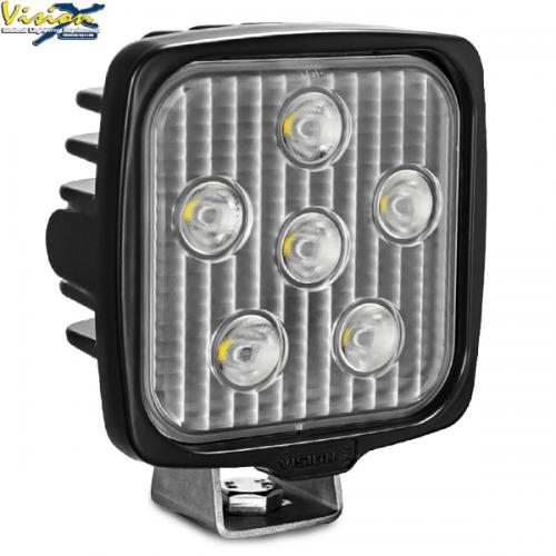 VISION X VL SERIES SQUARE 6-LED 30W