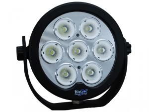 """Vision X Solstice Prime 6"""" LED extraljus, framifrån"""