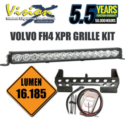 "Vision X XPR-15M LED ramp 30"" 150W Volvo Grill kit"