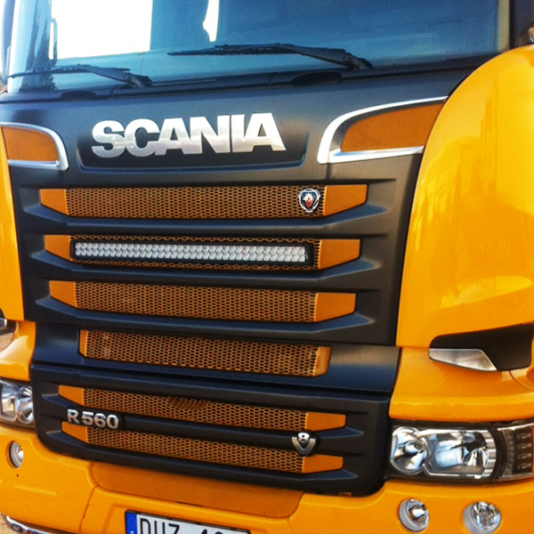 Vision x xpr 21m light bar 40 210w 5 scania kit mozeypictures Images