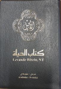 Levande bibeln, NT, Arabiska-Svenska, svart, mjukpärm