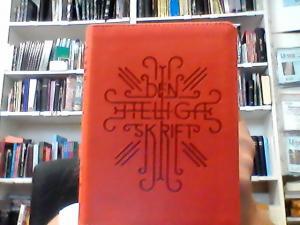 Den heliga skrift - BIBELN Gamla och Nya testamentet, orange, mjukband, guldsnitt 160x120x23