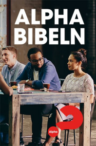 ALPHA BIBELN, special utgåva Bibel for the Nations, mjukband, pocket format,
