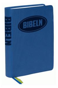 bibel 2000 - Konfabibel, mjukband blå, 200x140x30mm