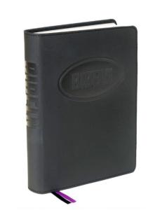 Bibel 2000 - konfabibel, mjukband, svart 200x150x30mm