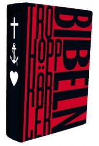 Bibel 2000 - kartonnage skyddsomslag: tro-hopp-kärlek 175x135x45mm,
