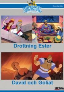 Bibelns Äventyr  Drottning Ester / David och Goliat