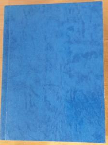 Bibel, kinesiska, blå, mjukband