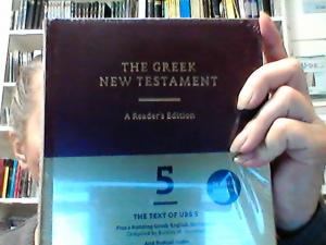 The Greek New Testament 5 Edition + Greek-English Dictionary