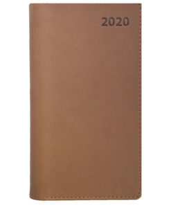 FICKKALENDER KYRKOÅRET 2020 brun, konsyskinn