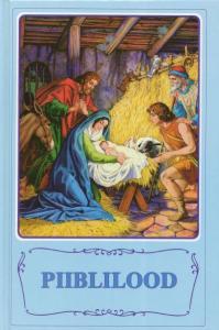 Barnbibel, (EST) ljusblå, inb. 190X130X28MM