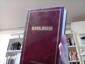 BIBEL, RYS, RÖD, STOR, HÅRDBAND,