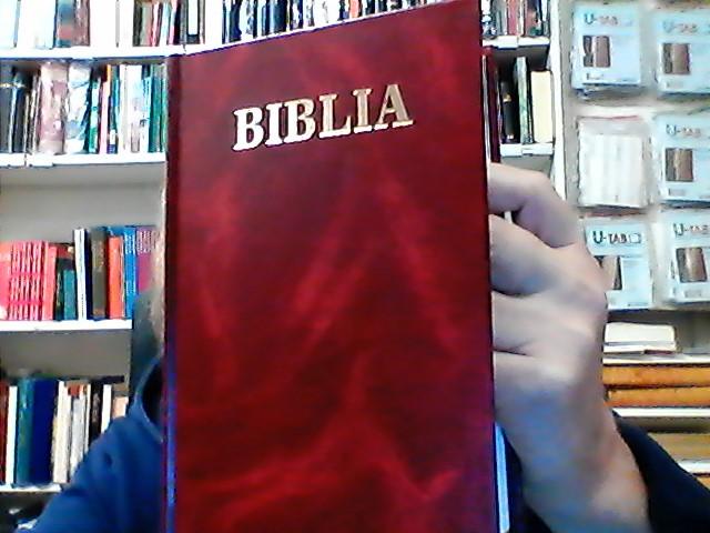BIBEL (SLO) BIBLIA, RÖD M, HÅRDBAND, 190*130*22MM
