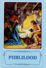 Barnbibel (UKR) blå mellan hårdband