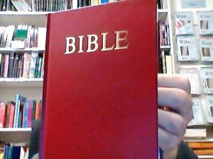 Bibel Tjeckiska vinröd liten hårdband