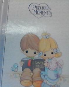 Biblia NBD, Santa biblia, precious moments, hård band.